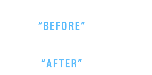 "Please move your mouse over the  ""BEFORE"" photo  and then see the  ""AFTER"" photo"